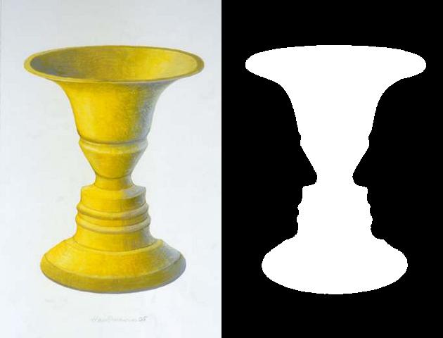 Rubin's Vase Example